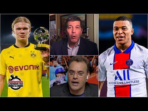 ¿Son MBAPPÉ y HAALAND los nuevos Messi y Cristiano Ronaldo? Real Madrid quiere a ambos | Cronómetro