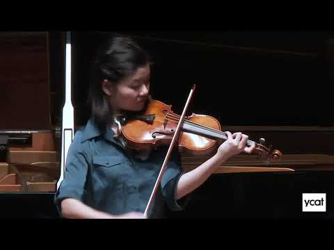 Mayumi Kanagawa, violin - Bach Chaconne from Partita No  2 in D minor