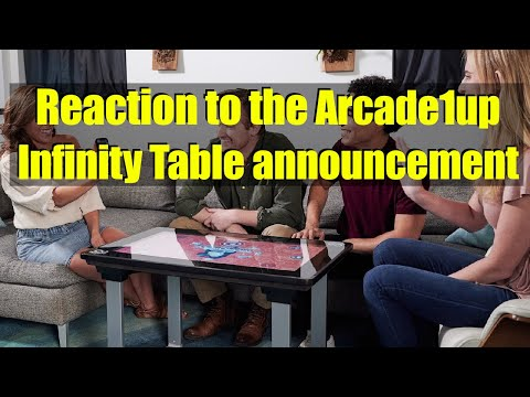 The Arcade1up Infinity Game Table is coming! from Bog Panda