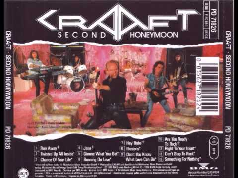 Craaft - Second Honeymoon 1988 [Full Album]