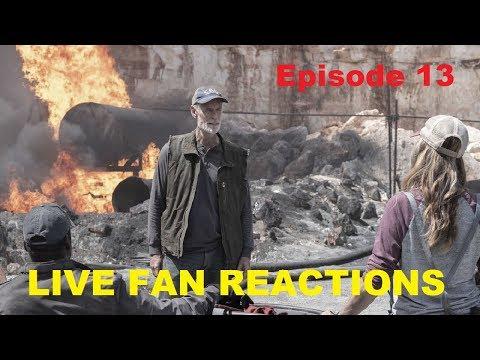 Fear The Walking Dead Season 5 Episode 13 - Fan Reactions LIVE