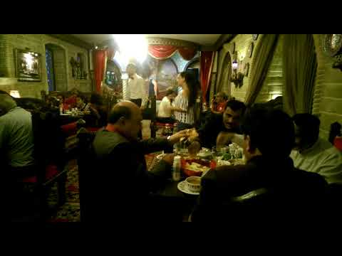 Dinner and Live music at Saray Restaurant. Travel to Azerbaijan
