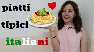 Italian FOOD: Typical Regional DISHES in Italy! - Learn How and What Italian People Eat! 🍕