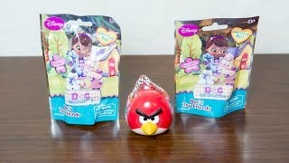 Angry Birds 3-in-1 Collection Keeper and Disney's Doc McStuffins Surprise Pack Unboxing