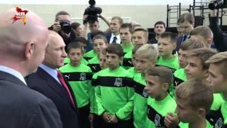 Путин привел Инфантино к будущим звездам сборной России