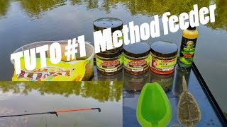 TUTO #1 La peche au METHOD FEEDER ! touches en direct