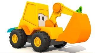 Max der Bagger baut  Spielzeugautos.  Zeichentrickfilm für Kleinkinder.