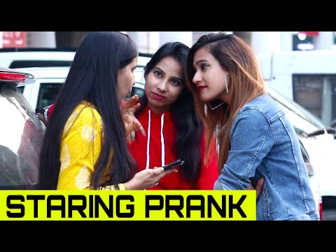 Staring Prank With Rits Dhawan On Civilian Prank Gone Wrong | Bhawna Choudhary
