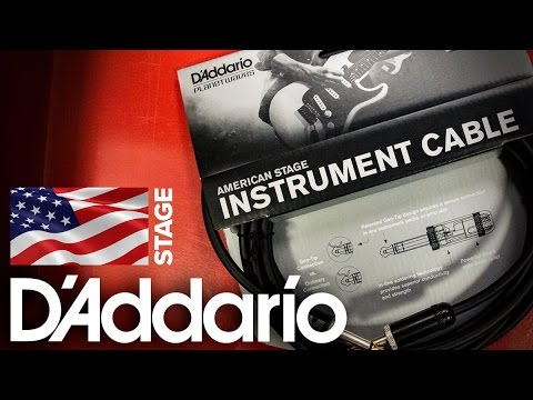 Strings Direct TV | D'Addario | Planet Waves American Stage Guitar Cable