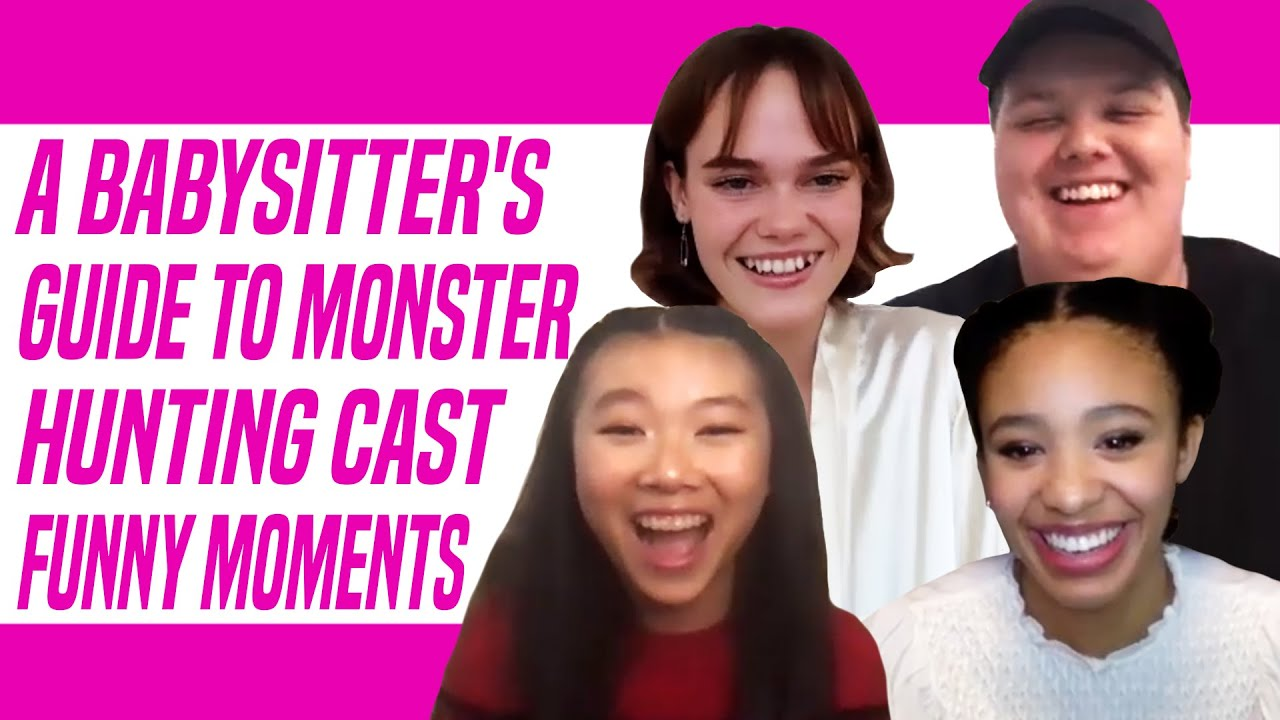 A Babysitter's Guide to Monster Hunting Netflix Cast Talks Funniest More and More