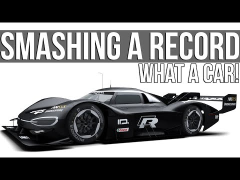 Smashing A Nordschleife Record In An Insane Electric Prototype