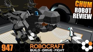 Robocraft Chum Robot Review - T Wrecks by derpytarbosaurus
