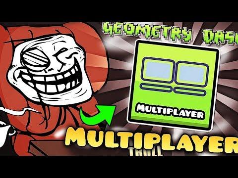 ¡TROLLEO A UN AMIGO en GEOMETRY DASH MULTIPLAYER! || Geometry Dash