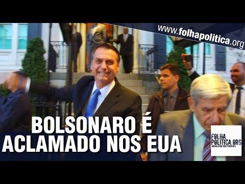 URGENTE: Últimas notícias do presidente Bolsonaro nos EUA - Aclamado por cidadãos, General Rêgo