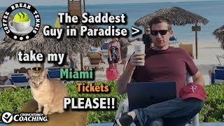 2018 Miami FEDERER OUT 1ST Rnd, Matt DISTRAUGHT in Paradise | Coffee Break Tennis