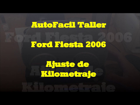 Bajar kilómetros Ford Fiesta