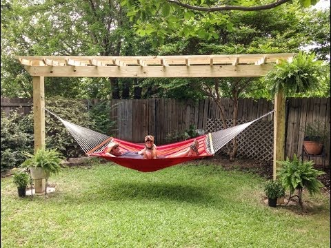 pergo hammock time lapse installation by 512pergolas   pergo hammock time lapse installation by 512pergolas     youtube  rh   youtube