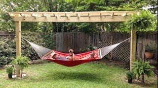 Pergo-hammock Time Lapse Installation By 512pergolas.com