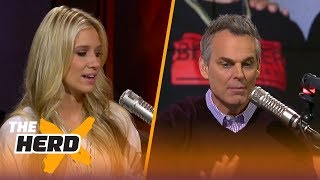 LaVar Ball trolled by Joel Embiid - Kristine and Colin react | THE HERD