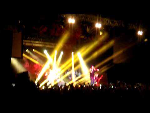 Three days grace - i hate everything about you, Novosibirsk 2014