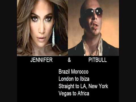 Jennifer Lopez feat. Pitbull - On the floor LYRICS (prod. with Red One)