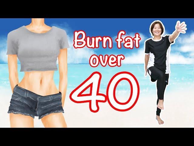 [40歳からのダイエット] 足踏みだけで内臓脂肪&皮下脂肪燃やし尽くす!自宅で静かに有酸素運動!