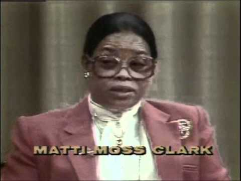 Dr. Mattie Moss Clark Interview (Rare Footage) 1981