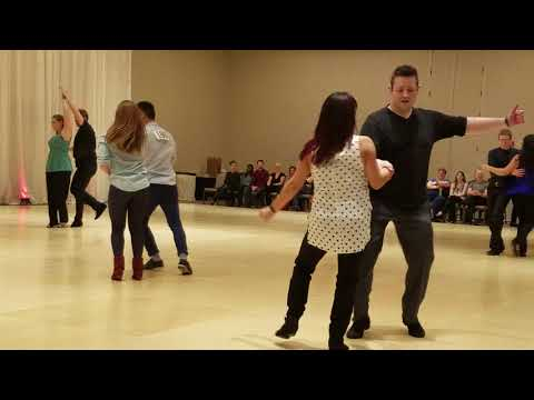 Dance Camp Chicago 2018. Intermediate Strictly Swing. Song #3.
