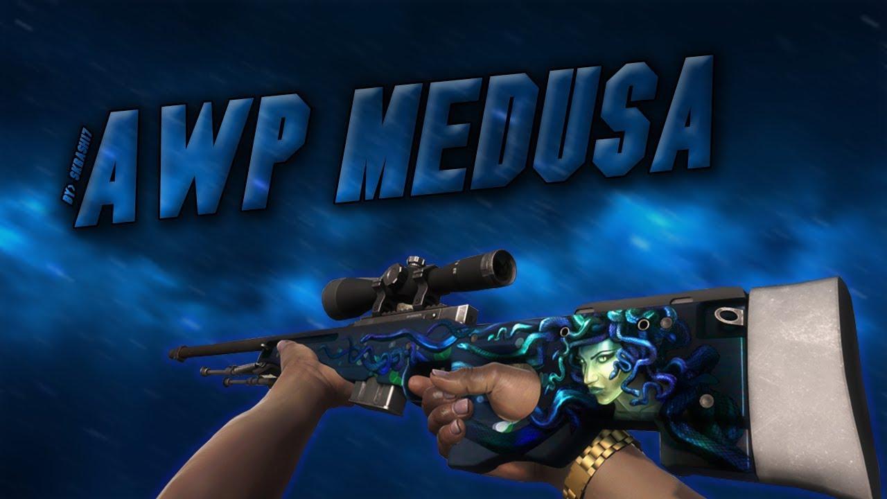 AWP Medusa - weapons descriptions