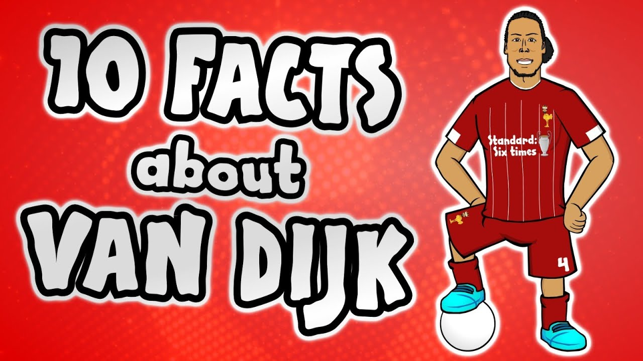 Download 10 facts about Virgil van Dijk you NEED to know!