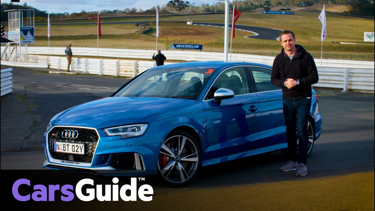 Audi Rs3 Sedan 2017 Review First Drive Video Youtube