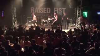 Raised Fist - Friends And Traitors live (Athens 12.09.2015)
