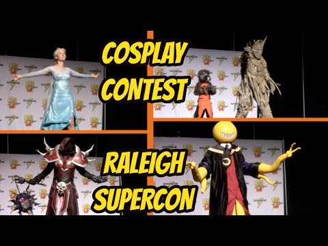 FULL COSPLAY CONTEST AT RALEIGH SUPERCON 2017   Amazing & Talented Cosplayers!