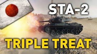 World of Tanks    STA-2 - TRIPLE TREAT