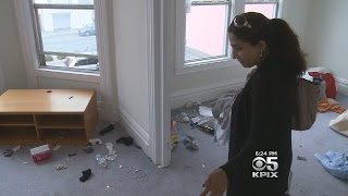 Foreign Students Trash SF Rental House Then Leave Country