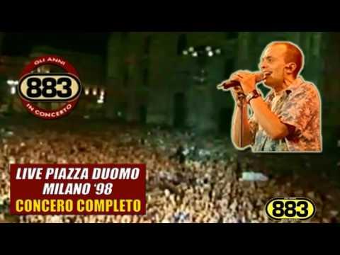 883: Sei un mito LIVE (Piazza Duomo Milano '98)