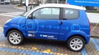 Электромобиль в Германии.Elektroauto. Электро Автомобиль в Германии. E-Mobil.(Видео было снято в марте 2013. http://vk.com/ivanuasdeutschland., 2013-06-13T13:36:24.000Z)