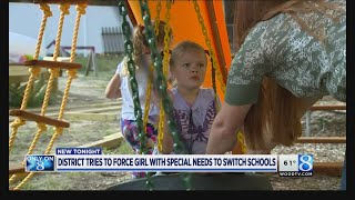 Parents of girl with rare syndrome fight school switch
