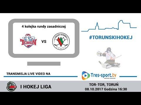 Nesta Mires Toruń - Zagłębie Sosnowiec | 4 kolejka | Hokej I Liga