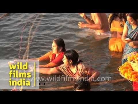 Lakhs of devotees flock Ganga Ghat in Varanasi during Maha Shivratri festival
