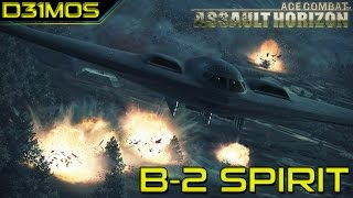 Ace Combat: Assault Horizon! # 11 B-2 Spirit e F-35!