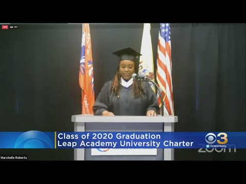 Leap Academy University Charter School Holds Virtual Graduation