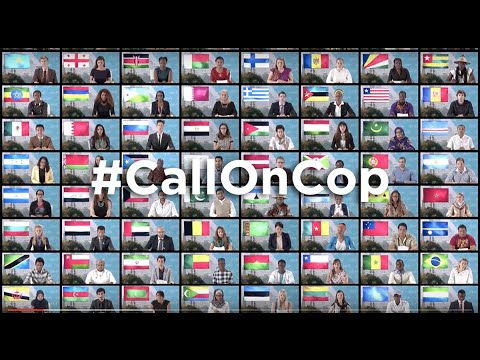 #CallOnCOP: young leaders demand action on climate change | One Young World