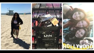 LA Vlog | Day 3 | NYX Store, Venice Beach, Walk Of Fame and much more!