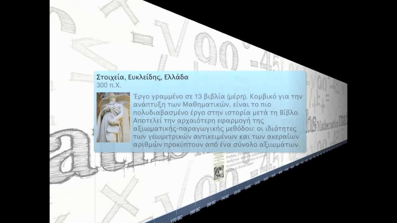 Χρονολογίων εφαρμογή DNA