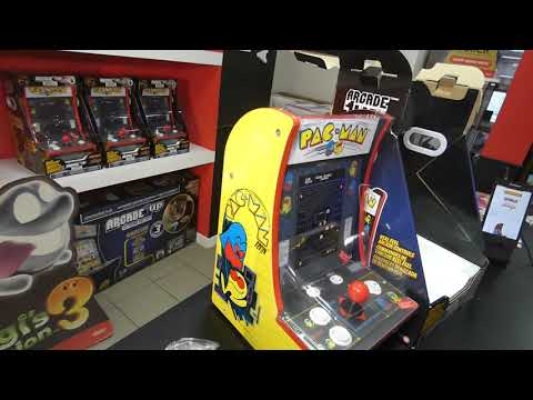 PAC-MAN Counter-Cade Stołowy Arcade1UP UNBOXING from Joystick