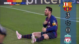 ملخص مباراة برشلونة 3-0 ليفربول / ذهاب نصف النهائي دوري ابطال اوروبا 2019 / تعليق علي محمد علي/FHD/