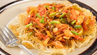 Chopsuey Recipe | Indian Style American Veg Chop Suey Recipe | Indo Chinese Recipes