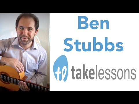 Flamenco Guitar Lessons w/ Ben Stubbs and TakeLessons.com