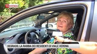 TG VICENZA (16/08/2017) - DEGRADO, LA RABBIA DEI RESIDENTI DI VIALE VERONA